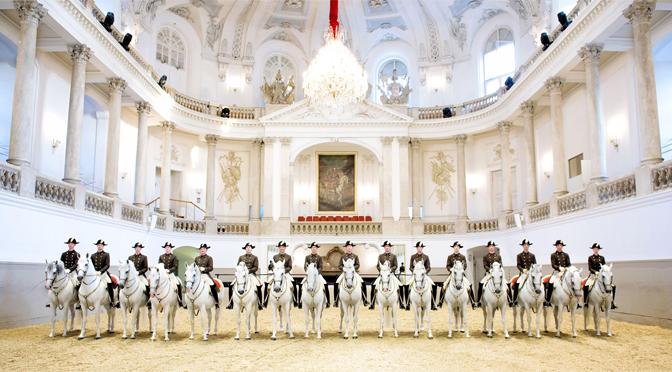 L'école d'équitation espagnole de Vienne fête ses 450 ans en juin 2015
